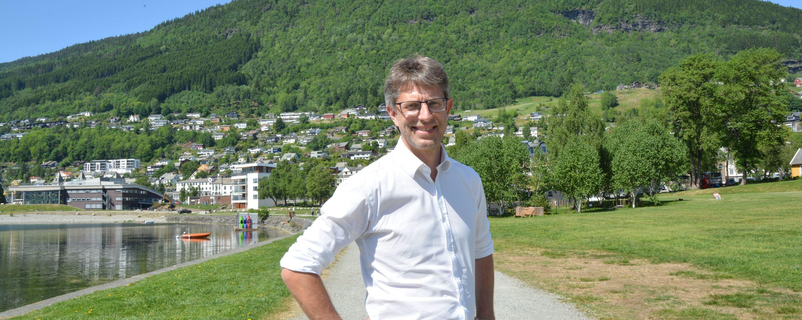 Ordførar Hans-Erik Ringkjøb